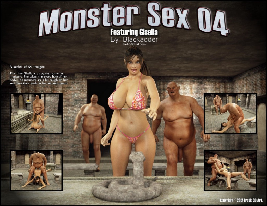 Смотреть порно 3д секс с монстрами 8 фотография