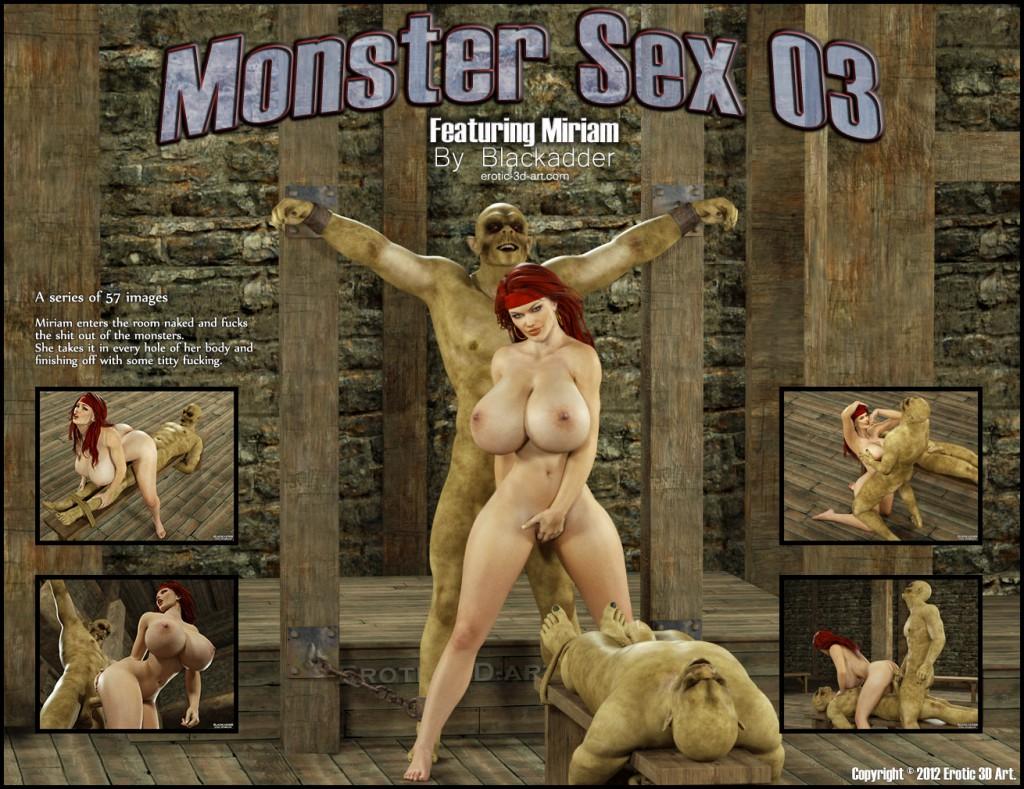 Секс с чудовищами в 3д 25 фотография