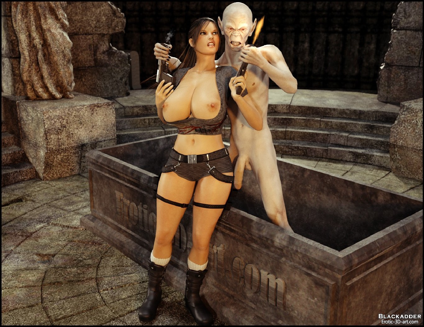 Free lara croft hentai monster erotic pic