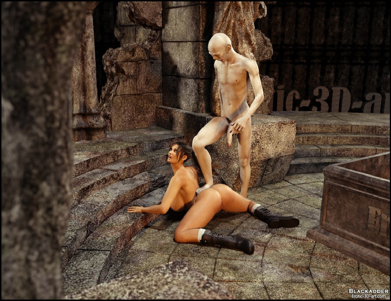 Sex lara monsters nude tube