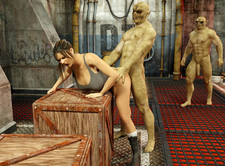 Femal monstersex exploited photo