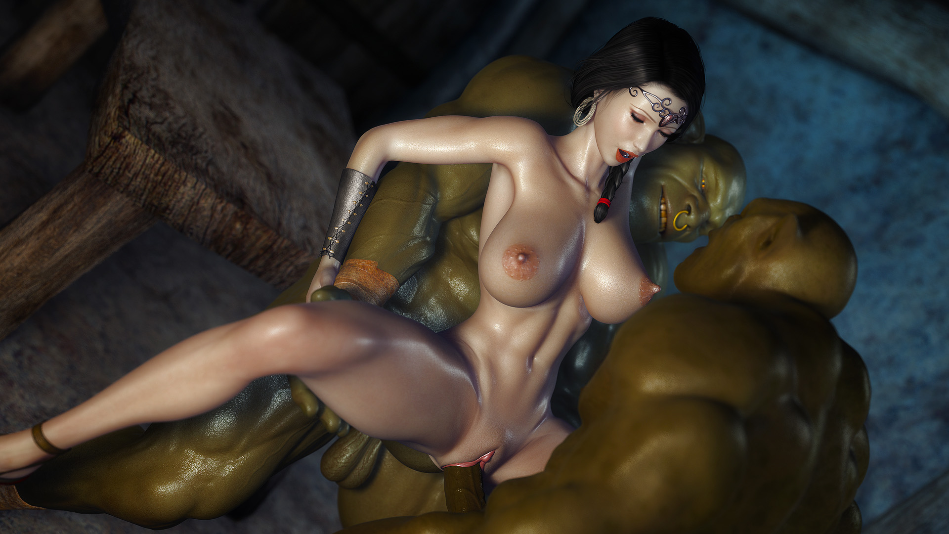 Хентай порно с орками 3 фотография