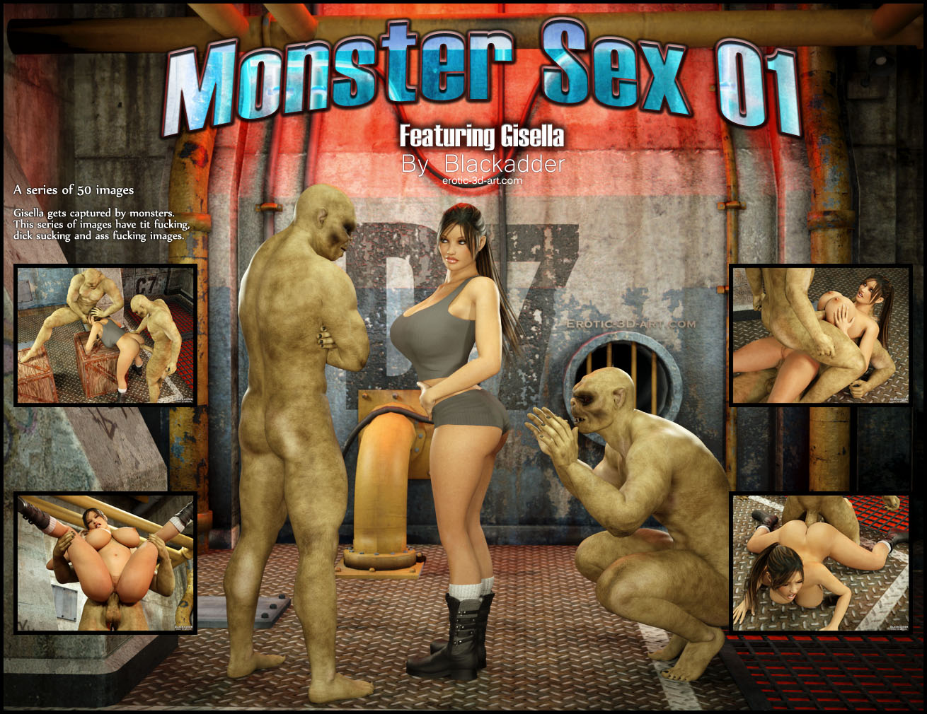 Эротические комиксы monster 19 фотография