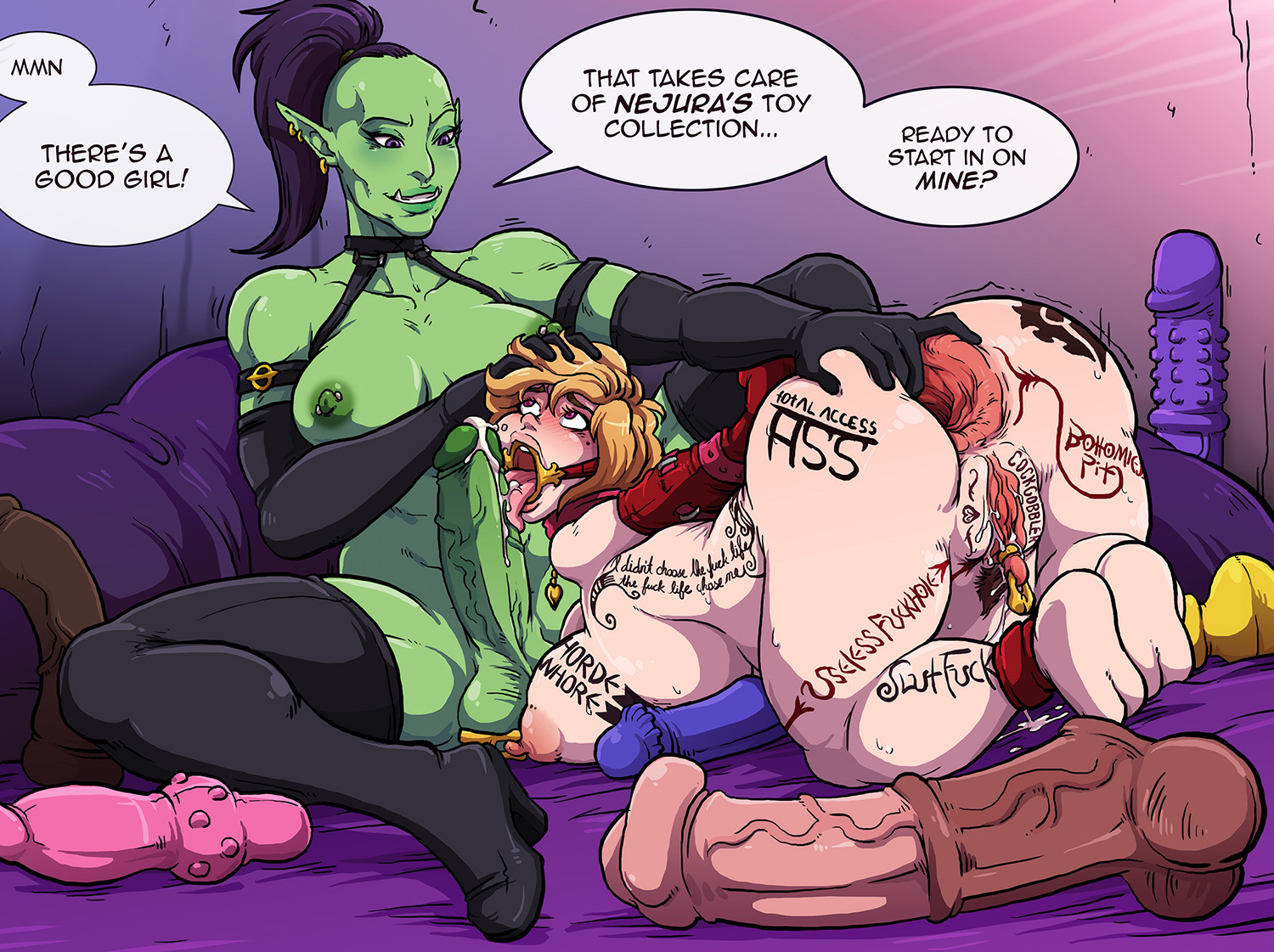 Cartoon demons xxx pics erotica pics