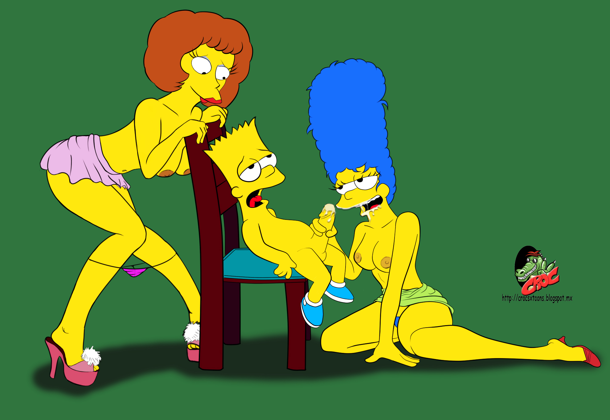 Hentai mod de los simpsons erotic download