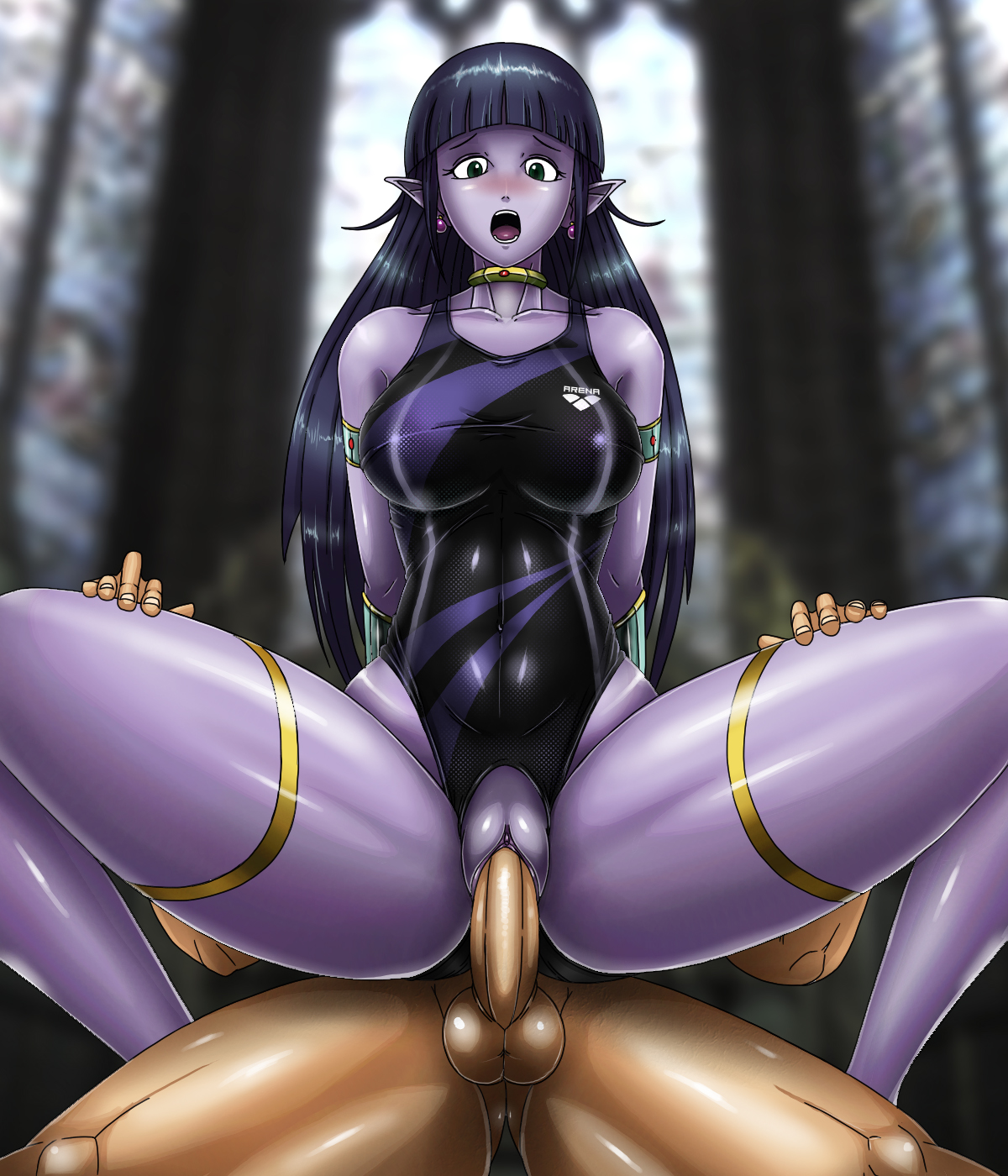 Dark elf hentai mobile hentia pic