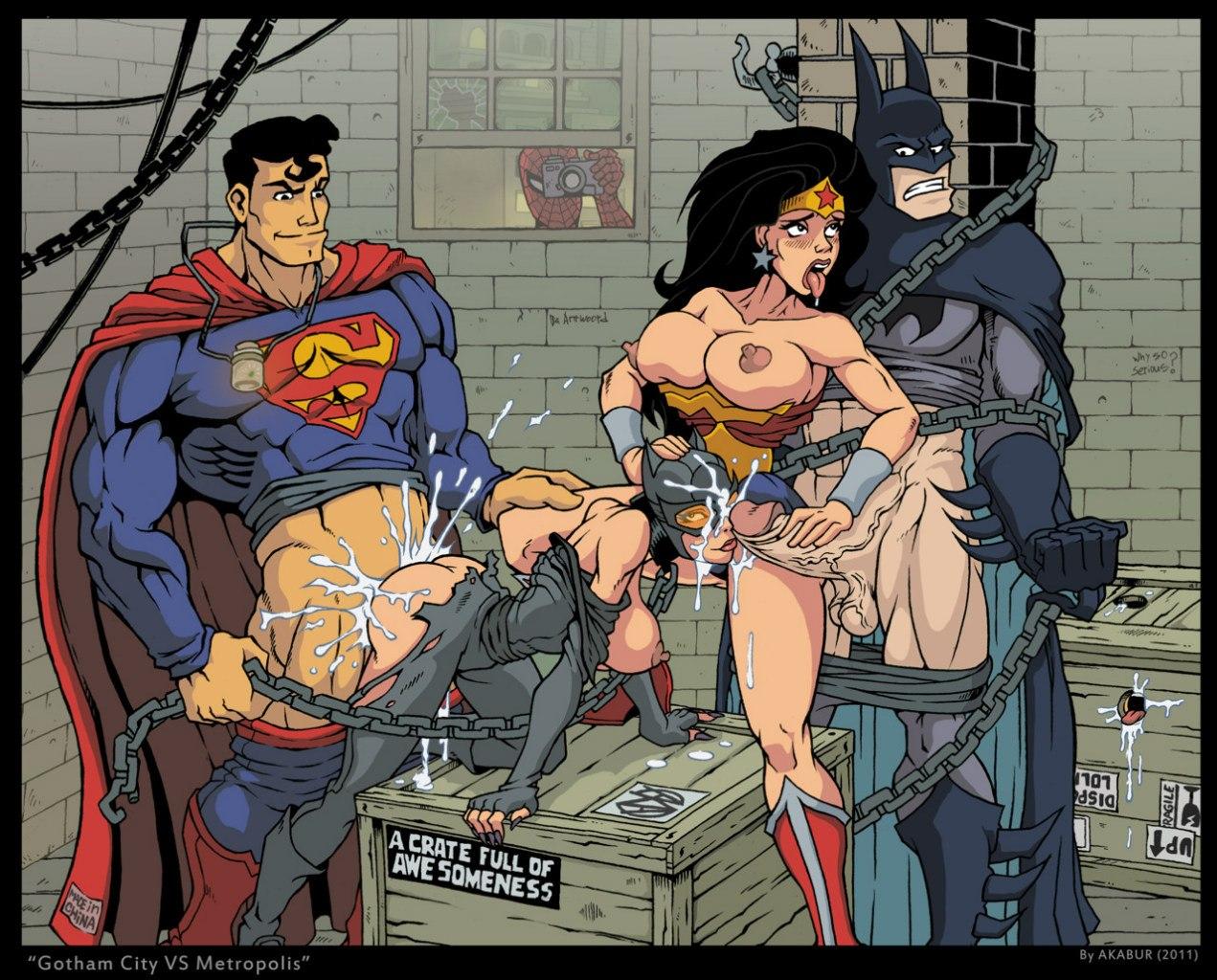 Супергеройские порно комиксы 22 фотография