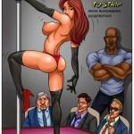 Жене приходиться раздеться - порно комикс (51)