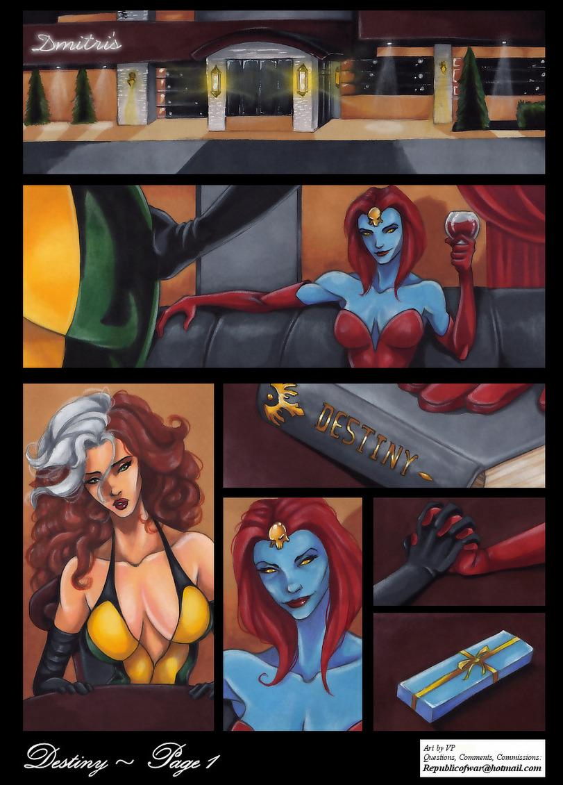 Транссексуалки в порно комиксах 11 фотография