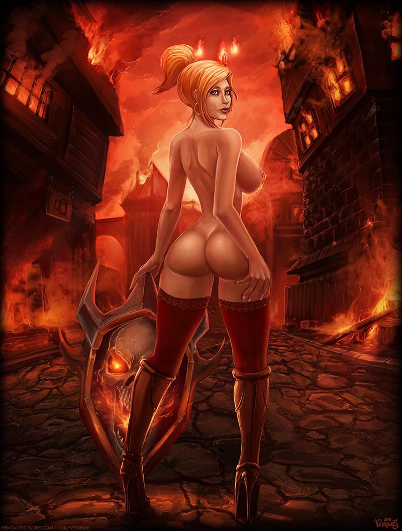 Vempire 3d xxx erotic pink pornstar