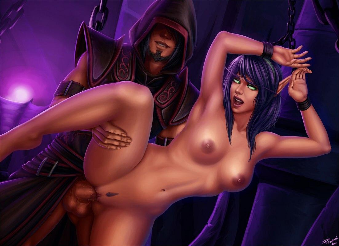 Порно варкрафт эльфы